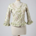 FLORAL RUFFLE REVERSIBLE