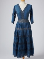INDIGO PIN-TUCK DRESS